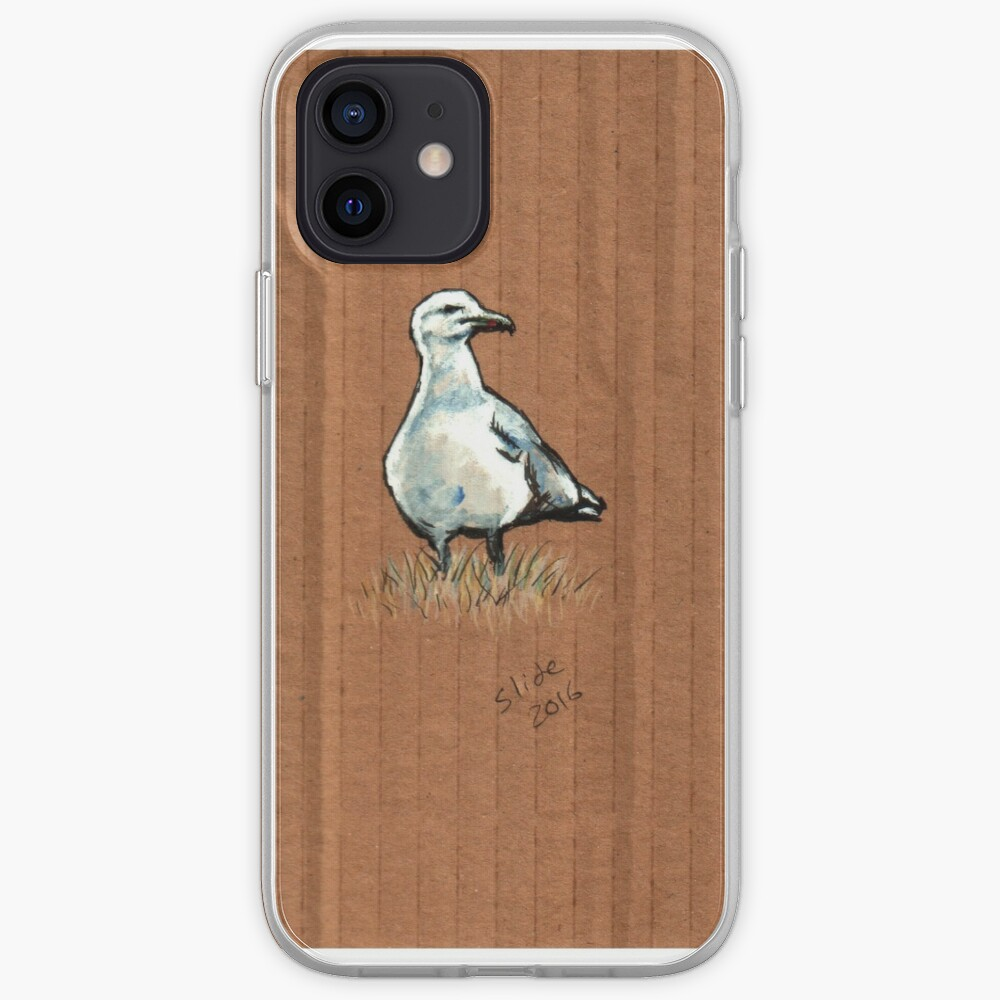 Gulls on Grass #2 iPhone Case & Cover