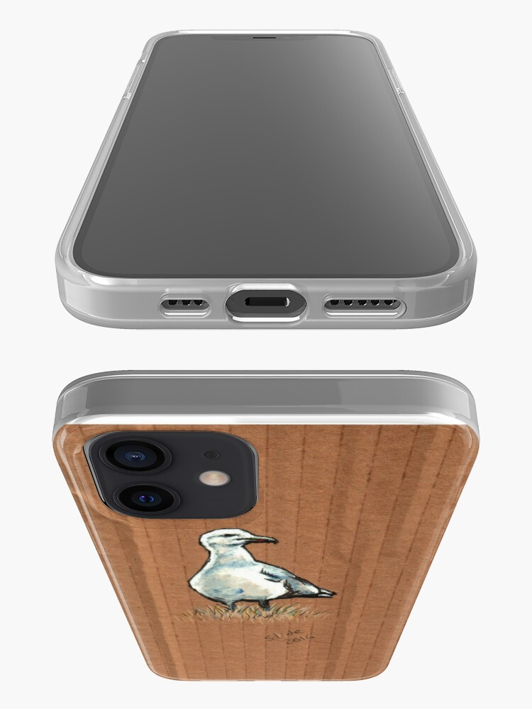 Alternate view of Gulls on Grass #2 iPhone Case & Cover