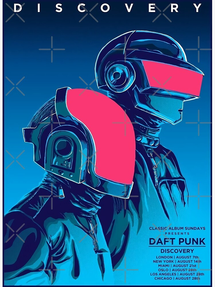 Blue Daftpunk by Leonsakit