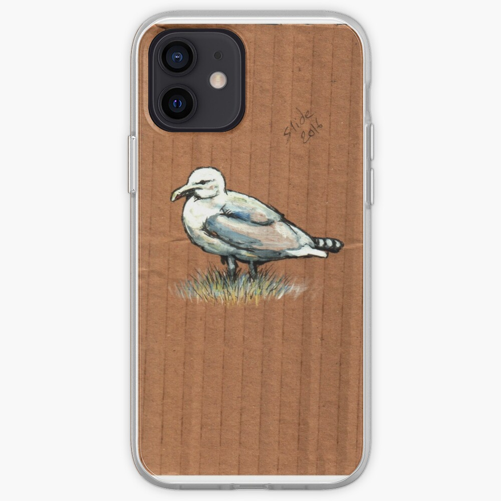 Gulls on Grass, #4 iPhone Case & Cover