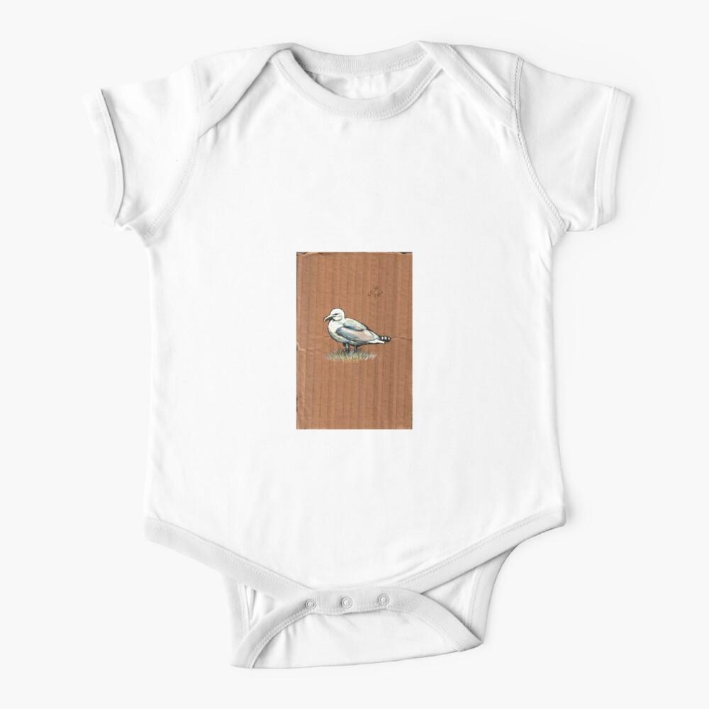 Gulls on Grass, #4 Baby One-Piece