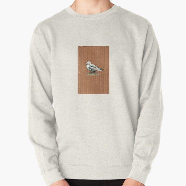 Gulls on Grass, #4 Pullover Sweatshirt