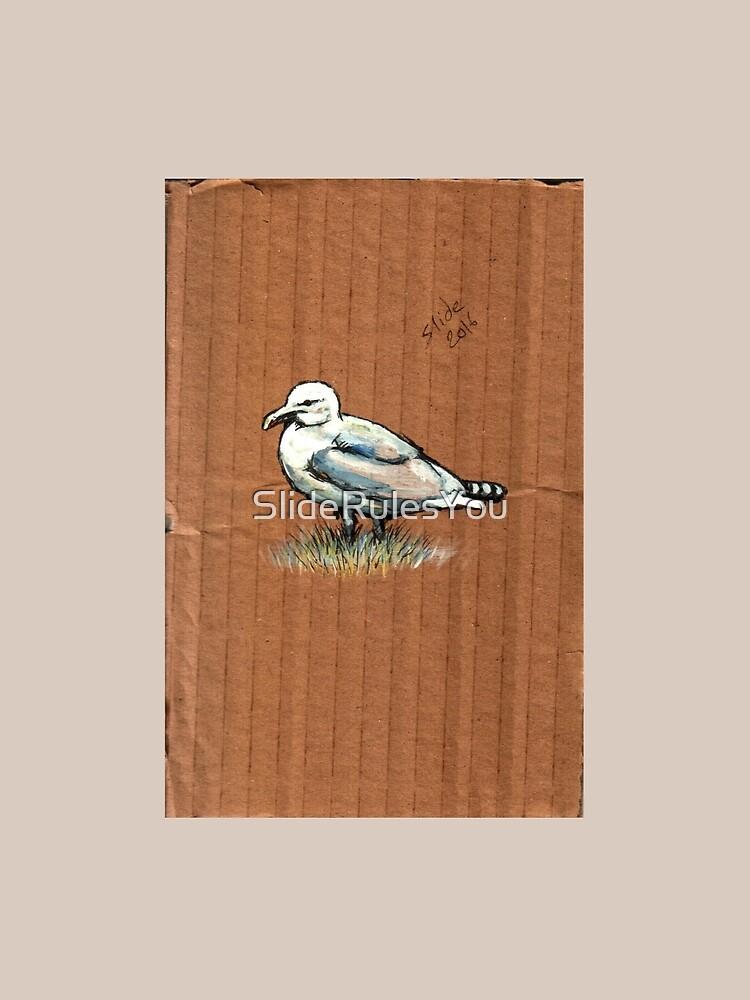 Gulls on Grass, #4 by SlideRulesYou