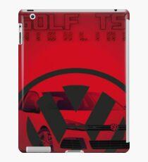 VOLKSWAGEN GOLF TSI iPad Case/Skin