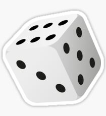 Dice roller Sticker
