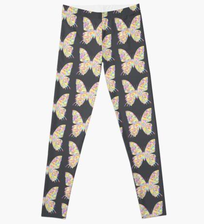 Pastel Motley Butterfly Leggings