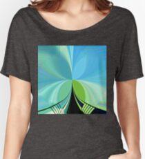 Sky Bridge Women's Relaxed Fit T-Shirt