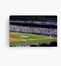 Baseball game Canvas Print