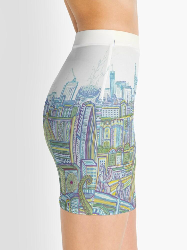 Alternate view of Megatropolis, Riddle District Mini Skirt