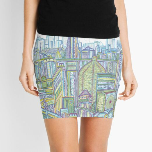 Megatropolis, Riddle District Mini Skirt