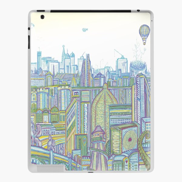 Megatropolis, Riddle District iPad Skin
