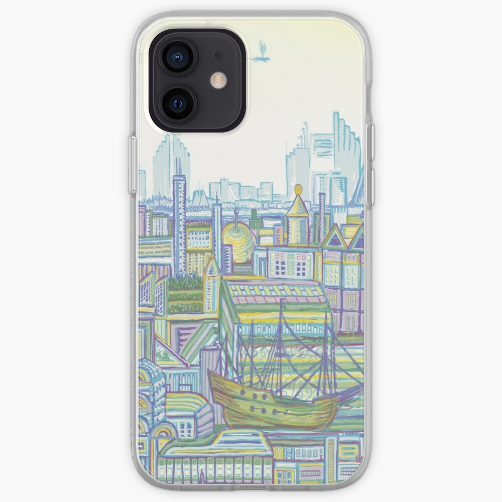 Megatropolis, Marina District iPhone Case & Cover