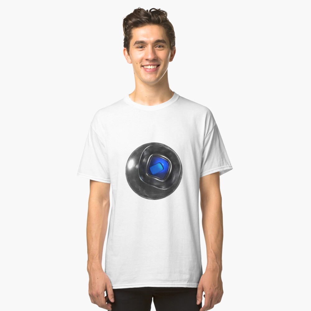 Crackled glass orb Classic T-Shirt Front