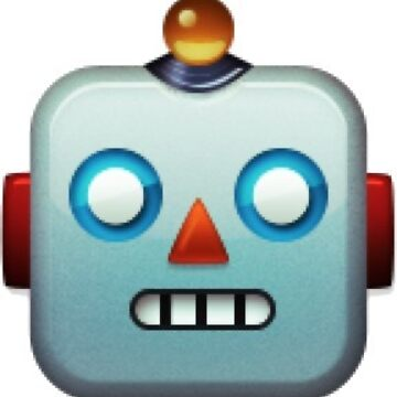 Robot face emoji (small) by neilpaul