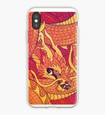 Coiled Dragon iPhone Case