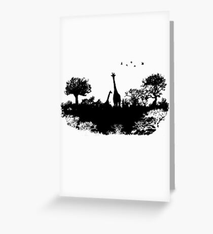 Wild Africa Greeting Card