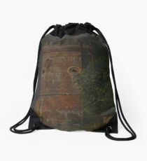 Tower of water Drawstring Bag