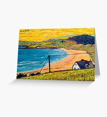 Long Strand, West Cork, Ireland Greeting Card