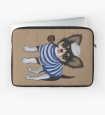 Sailor Chihuahua Laptop Sleeve