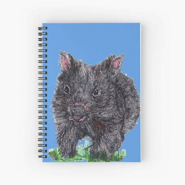 Billie the Baby Wombat Spiral Notebook