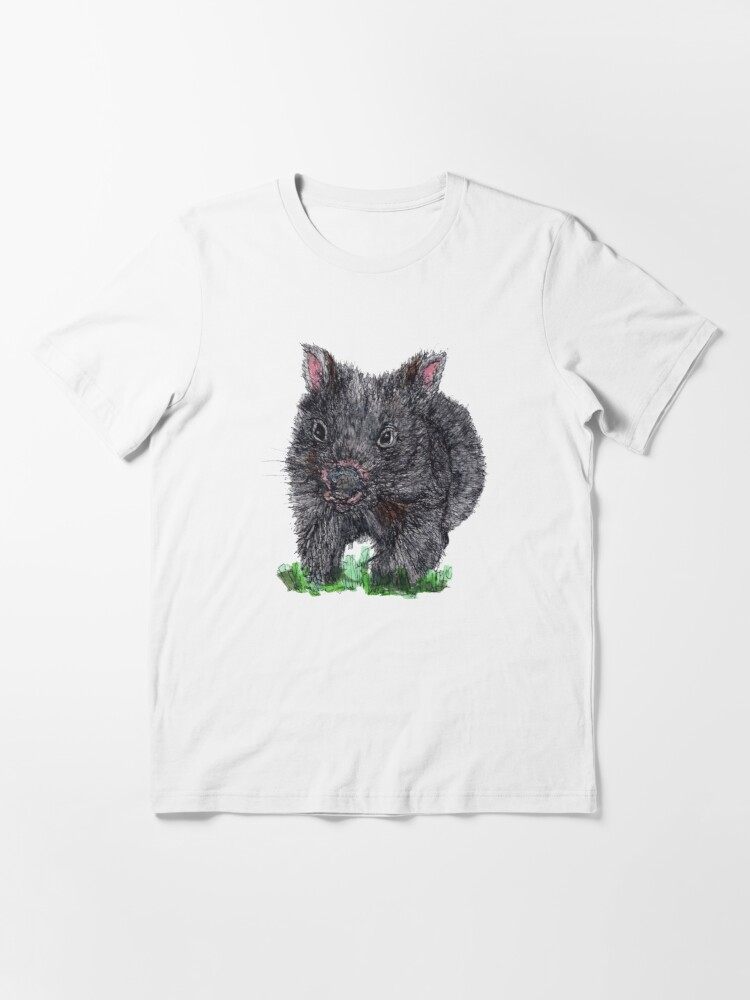 Alternate view of Billie the Baby Wombat Essential T-Shirt