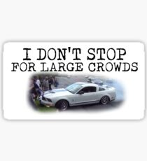 Ford Mustang - Crowd Killer Sticker