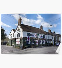 The Yew Tree Inn, Warminster, Wiltshire, UK Poster