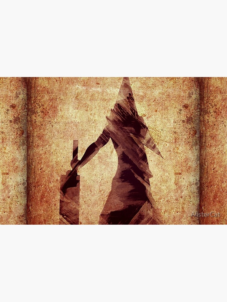 Silent Hill Pyramid Head Illustration Laptop Skin By Alistercat