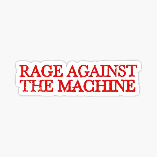 Rage Against the Machine Sticker