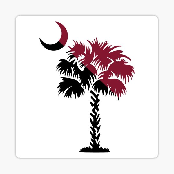 Palmetto tree sticker Sticker