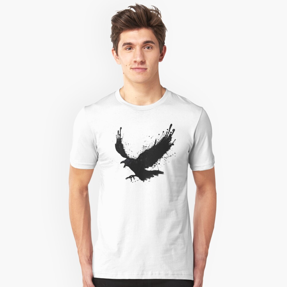 Raven Slim Fit T-Shirt