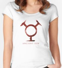 Ancient Sun - Blood Edition Women's Fitted Scoop T-Shirt