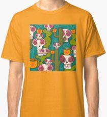 Skulls, Cacti and Atomic Coffee Classic T-Shirt