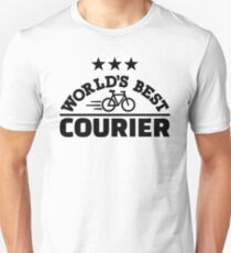 World's best bike courier Unisex T-Shirt