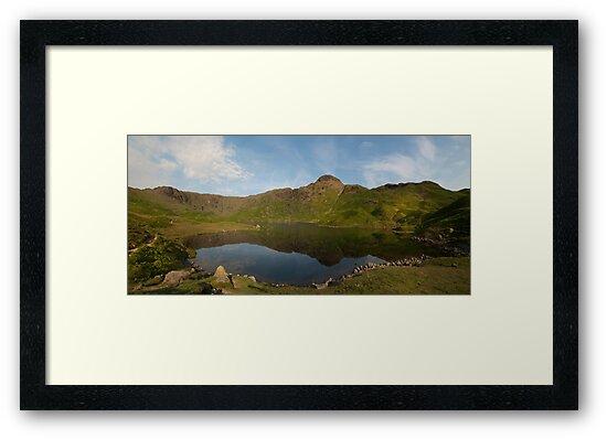 Easedale Tarn - Lake District by eddiej
