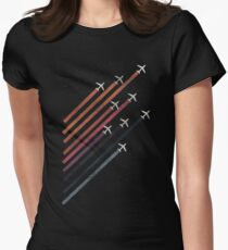 plane Women's Fitted T-Shirt
