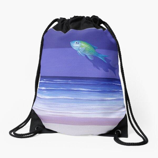 Damselfish Drawstring Bag
