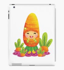 Cute Carrot iPad Case/Skin