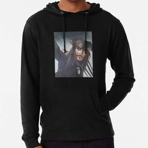 Captain Jack Sparrow - Johnny Depp Lightweight Hoodie