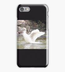 White Female Duck iPhone Case/Skin