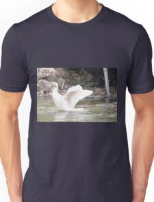 White Female Duck T-Shirt
