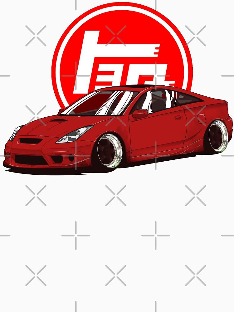 Toyota Celica T23 7gen de ElfenART