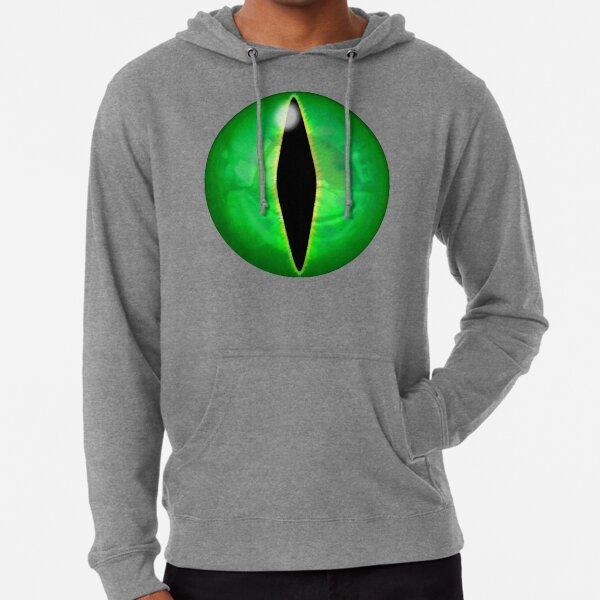 Green Dragon Eye Lightweight Hoodie