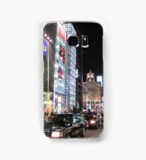 Ginza Streetscape, Chūō, Tokyo Samsung Galaxy Case/Skin