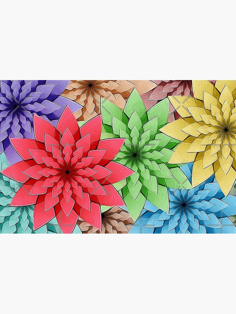 Colorful Flowers by perkinsdesigns