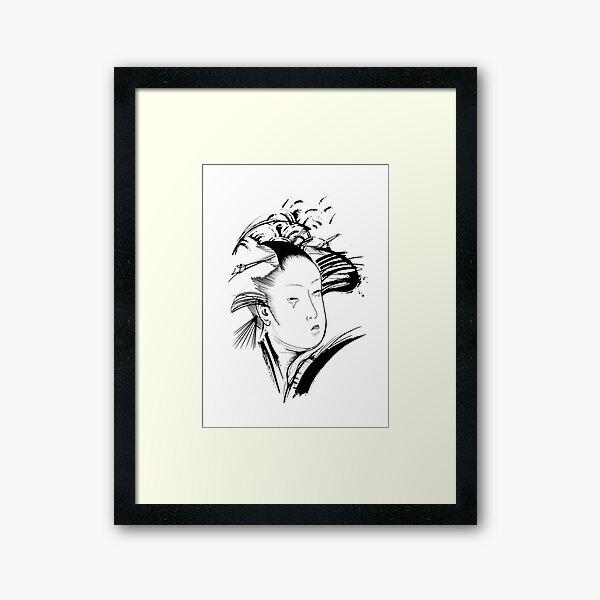 Geisha IV Framed Art Print
