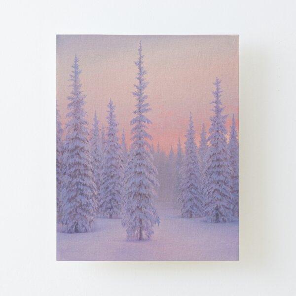 Winter Palace Canvas Mounted Print