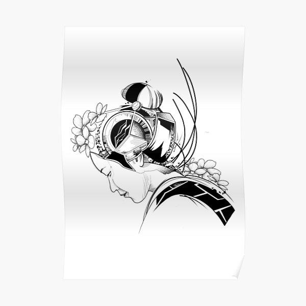 Android Geisha I Poster