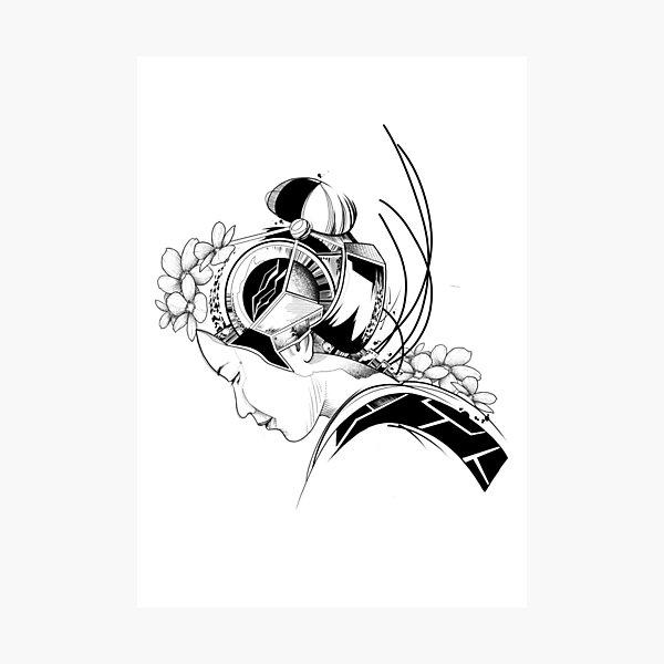 Android Geisha I Photographic Print