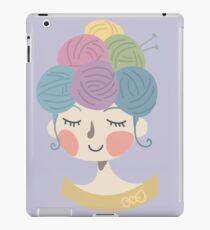 Knit Wit iPad Case/Skin